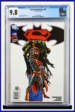 Superman Batman #32 CGC Graded 9.8 DC February 2007 White Pages Comic Book