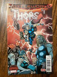 THORS #1-4, Marvel Comics, (2015) Complete Series NM BATTLEWORLD SECRET WARS