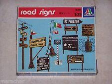 Diorama ITALERI 1/35ème ROAD SIGNS