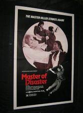 Orignal MASTER OF DISASTER TREASURE HUNTERS Martial Arts SHAW BROTHERS
