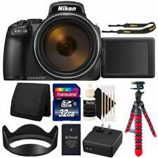 Nikon Coolpix P1000 Digital Camera + 32Gb Card + Accessory Kit