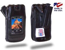 Motorola V9 Turtleback Leather Fitted Case