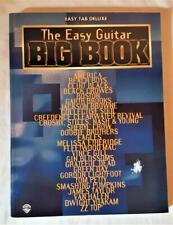 The Easy Guitar Big Book  Easy Tab Deluxe - Warner Bros.