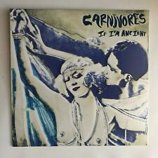 Rare Carnivores If I'm Ancient Vinyl LP Record 210 Double Phantom Album