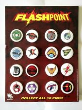 More details for flashpoint 16 pin set with easel-back display stand