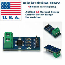 ACS712 5A Current Sensor Current Detect Range Module for Arduino New Design USA