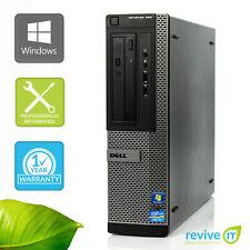 Custom Build Dell Optiplex 390 DT  i3-2100 3.10GHz Desktop Computer PC