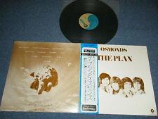 THE OSMONDS (BROTHERS) Japan 1973 Ex LP+Obi THE PLAN