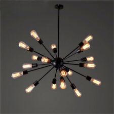 12/18/20 Heads Vintage Sputnik Chandelier Light Ceiling Pendant Lamp Industrial