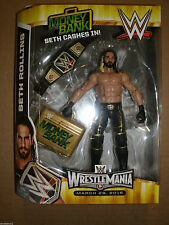 WWE SETH ROLLINS ELITE TOYS R US EXCLUSIVE MONEY IN THE BANK FIGURE