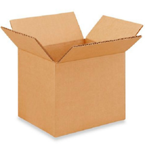 200 6x5x5 Cardboard Paper Boxes Mailing Packing Shipping Box Corrugated Carton