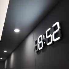 Digital 3D LED Wall/ Desk Clock