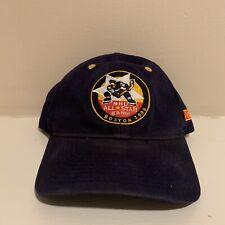 VTG 1996 NHL All Star Game Boston Bruins Host Snapback Hat Navy Blue Hockey Cap
