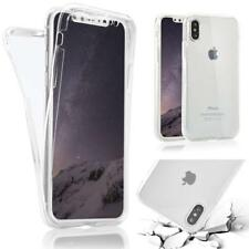 Case For Apple iPhone XS X XR XS Max Cover Shockproof Front + Back 360 Silicone