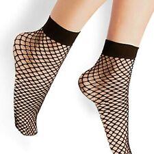 Steve Madden Fishnet Socks Set of 2 pairs Women's Unisex OSFA Black Friday NWT