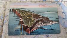 Helgoland Kriegshafen Düne Unterland AK Postkarte 5933