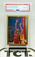 1992 Fleer Drake's NBA Basketball Michael Jordan PSA 8 Chicago Bulls