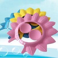 New Lovely Soft Baby Children Adjustable Bathing Shower Cap Hat Wash Hair Shield