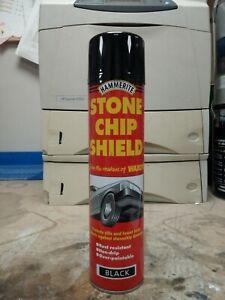 Hammerite 5092832 600ml Stonechip Shield Aerosol - Black