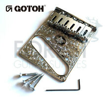 GOTOH GTC-Art-02 Guitar fixed Bridge Telecaster® style Art collection, Chrome