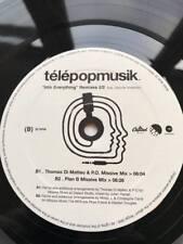Super Rare Telepopmusik Into Everything-Remixes 2/2 Feat  Record LP / Vinyl