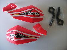 New Ufo Red Hand Guard Motocross Enduro Cr Crf450 Cr250 Xr250 Xr400 Handguards