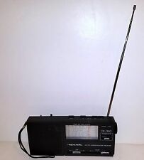 Realistic DX-360 AM-FM-LW-Short Wave 9-Band Portable Radio WITHOUT Power Supply.