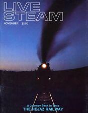 Live Steam V19 N11 November 1985 A Journey Back in Time - The Hejaz Railway