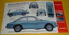 1970 Alfa Romeo 1750 GTV 4Cyl 1779cc 2 Weber Carbs or SFI IMP Info/Specs/photo