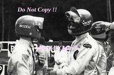 Ronnie Peterson & Reine Wissel F1 Portrait French Grand Prix 1973 Photograph