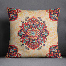 S4Sassy Multicolor Home Decorative Floral Printed Cushion Square Pillow Cover
