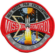 Mission Control Embroidered Patch 11cm x 10cm (Official Design)