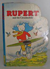 Rupert And The Cloudmobile, Hardback, Rupert Bear, 1991, Brainwaves,  Board
