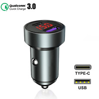Auto Ladegerät USB-C KFZ Ladegerät TypC Ladeadapter Für Samsung Galaxy A21s
