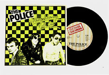 THE POLICE 45 Nothing Achieving ILLEGAL Rec 77 HEAR UK A+ Green & Black Sleeve