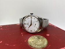 Vintage Omega  Watch White Waffle Dial 267
