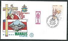 1980 VATICANO VIAGGI DEL PAPA BRASILE MANAUS - EV