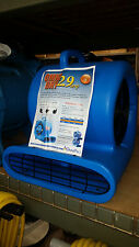 Air Mover OmniDry 2.9 AMP stackable 1/3 Horse Power Restoration AC25A quantity