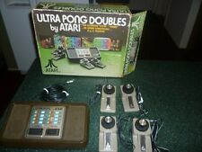 Vintage Atari Ultra Pong Doubles in the Original Box. Works!