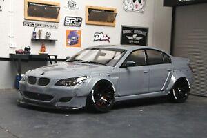 RC Body Car Drift 1:10 BMW 5 E 60 widebody E60 style APlastics New Shell