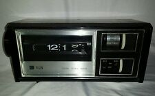 Vtg ELGIN 70s Retro FLIP DIGIT ALARM CLOCK RADIO RD-1007 Not Working RARE