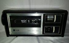 Vtg ELGIN 70s Retro FLIP DIGIT ALARM CLOCK RADIO RD-1007 Not Working RARE