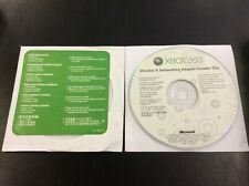 Xbox 360 Console Wireless N Networking Adapter Installer Disc CD Microsoft 2009