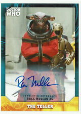 Doctor Who Signature Series Autograph Card BASE Rosss Mullas as The Teller