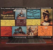 Modelling Techniques Napoleonic Era Figures & Dioramas Geoff Mills #6 & #9 1978