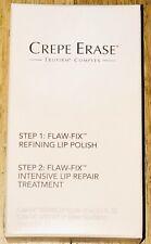 Crepe Erase Flaw-Fix Refining Lip Polish & Repair Treatment .5oz ea âž–New Sealed