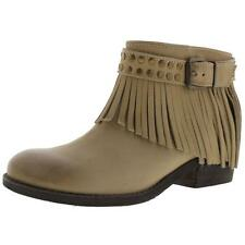 Naughty Monkey 2365 Womens Amiggo Beige Ankle Boots Shoes 8.5 Medium (B,M) BHFO