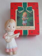 Vintage 1984 Betsey Clark Angel Hallmark Qx4624 Ornament is Mint