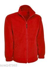 Ladies Loose Fit Fleece Unisex Jacket Size 10 to 28 Plus NEW