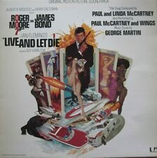LIVE AND LET DIE - ORIGINAL MOTION PICTURE SOUNDTRACK  -  LP